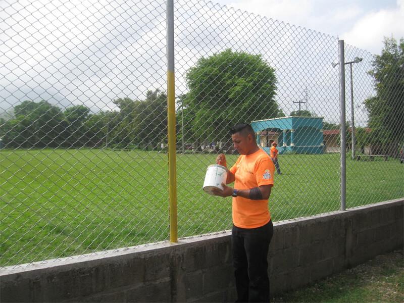 """Azunosa voluntariado para mejorar parque """"Alegrías Infantiles"""""""