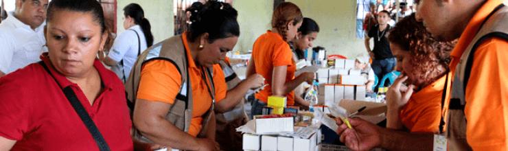 Azunosa beneficia 1500 personas con brigada Manos Solidarias