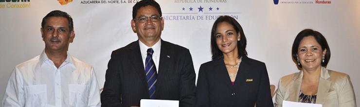Azunosa y el programa Empresarios por la Educación Honduras