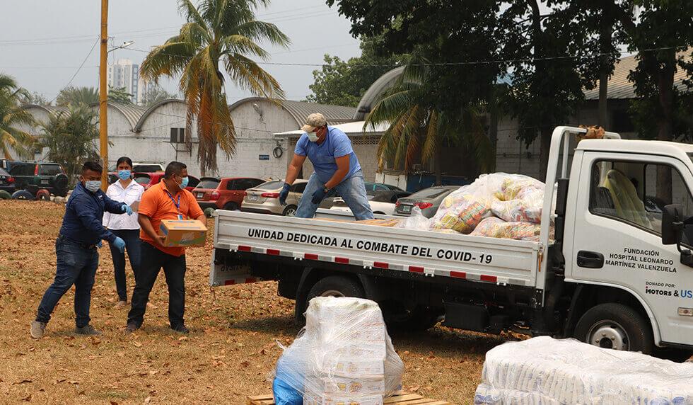 Lacthosa y Azunosa entregan 30,000 desayunos para personal médico