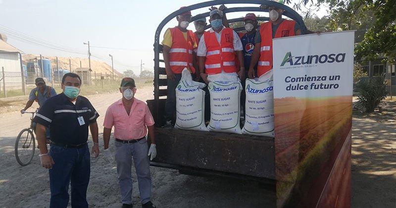 Activa participación de Azunosa en la campaña de prevención contra Covid-19 en el Valle de Sula